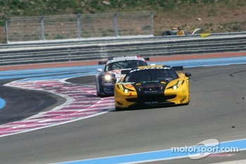 #61 Kessel Racing Ferrari 458 Italia: Michael Broniszewski, Philipp Peter