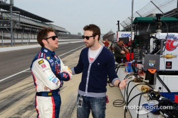 Marco Andretti, Andretti Autosport Chevrolet and James Hinchcliffe, Andretti Autosport Chevrolet