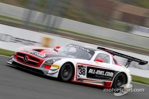 #38 All-Inkl.com Münnich Motorsport Mercedes-Benz SLS AMG GT3: Marc Basseng, Markus Winkelhock