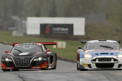 #33 Belgian Audi Club Team WRT Audi R8 LMS: Frank Stippler, Oliver Jarvis, #7 Valmon Racing Team Russia Aston Martin DBRS9: Maxime Martin, Alexey Vasiliev
