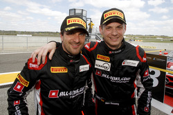 Third place Markus Winkelhock and Marc Basseng
