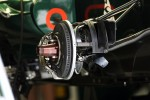 Caterham CT01 brake detail