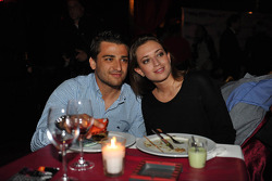 Welcome Party, Isaac Tutumlu, BMW 320 TC, Proteam Racing and his girlfriend