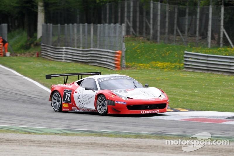 #72 Kessel Racing Ferrari 458 Italia:  Gino Forgione, Maurice Basso, Massimiliano Mugelli