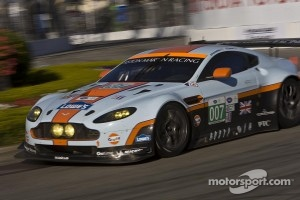 #007 Aston Martin Racing Aston Martin Vantage: Adrian Fernandez, Darren Turner