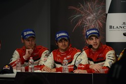 2nd placed drivers: Edward Sandstrom, Laurens Vanthoor, Marco Bonanomi