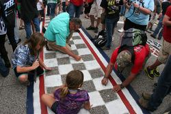 Pre-race activities