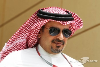 Crown Prince Shaikh Salman bin Isa Hamad Al Khalifa