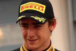 Second place Esteban Gutierrez