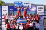 Winners Sbastien Loeb and Daniel Elena, Citron DS3 WRC, Citron Total World Rally Team