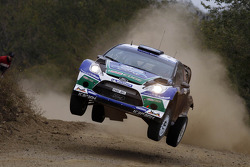 Daniel Sordo and Carlos Del Barrio, Ford Fiesta RS WRC, Ford World Rally Team