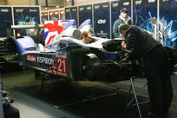 #21 Strakka Racing HPD ARX 03a-Honda: Nick Leventis, Danny Watts, Jonny Kane