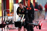 Lotus F1 Team mechanic