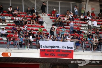 Banner for Robert Kubica,