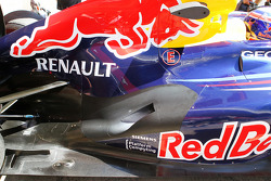 Mark Webber, Red Bull Racing exhaust detail