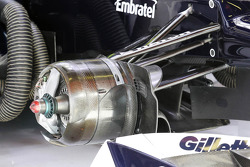 Williams FW34 brake