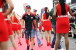 Charles Pic, Marussia F1 Team on the drivers parade