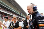 Adrian Newey, Red Bull Racing Chief Technical Officer on the grid