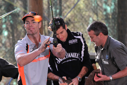 Craig Lowndes goes fishing