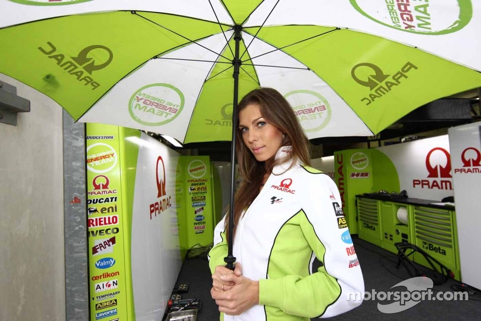 A lovely Pramac girl