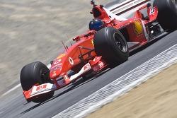 Bud Moeller in his Ferrari F2003-GA during Ferrari Racing Days