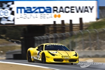 #44 Boardwalk Ferrari Ferrari 458 Challenge: John Taylor