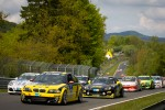 Formation lap: #233 Black Falcon Team TMD Friction BMW M3 CSL: Jrgen Dinsthler, Christian Reiter, Markus Enzinger, Michael Pflger
