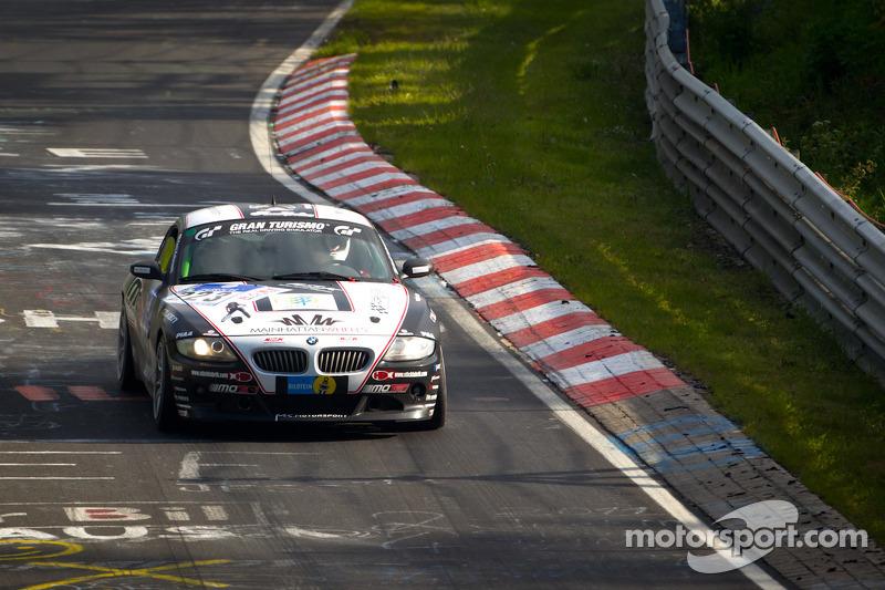 #223 Team DMV BMW Z4 3.0 Si: Kenji Kobayashi, Raphael Klingmann, Sebastian Krell, Jörg Krell