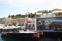 Red Bull Energy Station and Red Bull boat