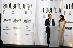 Simon Lazenby, Sky Sports F1 TV Presenter at the Amber Lounge Fashion Show