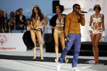 Labrinth, Singer, at the Amber Lounge Fashion Show