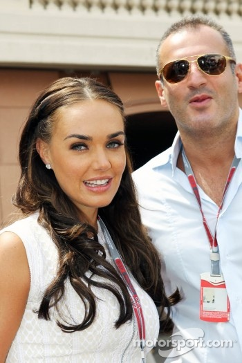 Tamara Ecclestone, with boyfriend