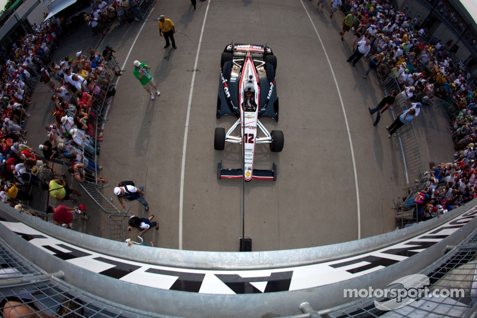 Car of Will Power, Verizon Team Penske Chevrolet
