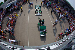 Car of Ed Carpenter, Ed Carpenter Racing Chevrolet