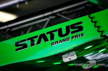 Status Grand Prix signage