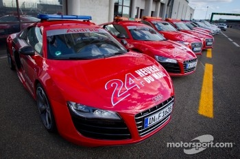 Audi R8 safety cars