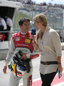 Mike Rockenfeller, Audi Sport Team Phoenix Racing Audi A5 DTM with Verena Wriedt