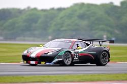 #52 AF Corse Ferrari 458 Italia: Niek Hommerson, Louis Machiels, Maurizio Mediani