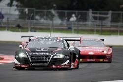 #1 Belgian Audi Club Team WRT Audi R8 LMS ultra: Christopher Haase, Christopher Mies, Stephane Ortelli