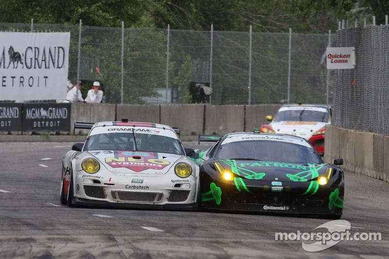 #03 Extremem Speed Motorsports Ferrari 458: Guy Cosmo, Scott Sharp #73 Horton Autosport Porsche GT3: Eric Foss, Patrick Lindsey