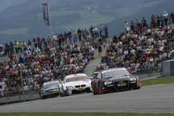 Edoardo Mortara, Audi Sport Team Rosberg Audi A5 DTM, Martin Tomczyk, BMW Team RMG BMW M3 DTM and Gary Paffett, Team HWA AMG Mercedes, AMG Mercedes C-Coupe