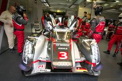 #3 Audi Sport Team Joest Audi R18 Ultra: Marc Gene, Romain Dumas, Loic Duval