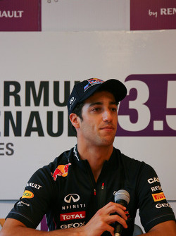 Daniel Ricciardo, on press conference