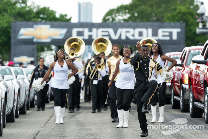 The Martin Luther King Jr. High School Marching Band
