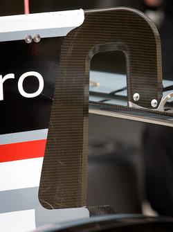 #2 Audi Sport Team Joest Audi R18 E-Tron Quattro rear wing detail