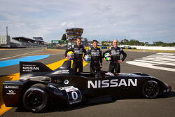 Nissan photoshoot: #0 Highcroft Racing Delta Wing Nissan: Marino Franchitti, Michael Krumm, Satoshi Motoyama