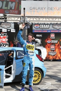 Race winner Marcus Gronholm at Global Rallycross in 2012 Texas event