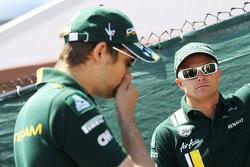 Vitaly Petrov, Caterham with Heikki Kovalainen, Caterham