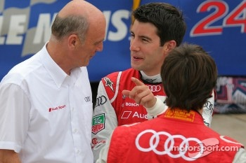 Dr. Wolfgang Ullrich and Mike Rockenfeller