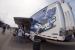 The Carl Edwards memorabilia hauler